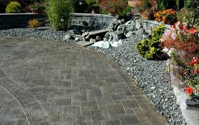 Patio Stones Kitchener Which Is Better Natural Stone Or Interlocking Concrete Pavers