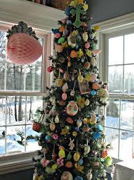 Easter Tree Ornaments Decorations by Musings From Kim K Another Holiday Another Decorated Tree
