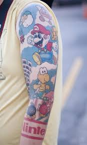 70 tatuagens para os fãs de super mário bros geeks tattoo and