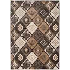Black And Brown Area Rugs Safavieh Vintage Brown Ivory 9 Ft X 12 Ft Area Rug Vtg430b 9