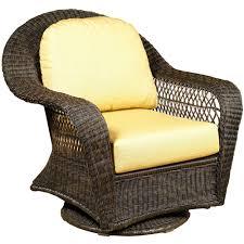 Wicker Rocker Patio Furniture - north cape wicker port royal swivel glider club chair