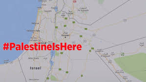 World Google Map by Mapping Palestine How Google Chose To Not Label A Conflict Zone