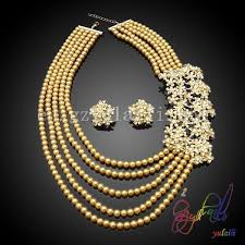 beautiful earring necklace set images 2gram gold beautiful designed earrings necklace handmade bead jpg