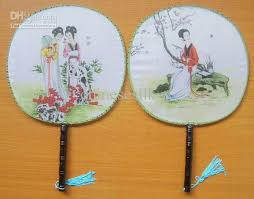 silk fan women silk fan fan palace fan fan novelty handle fan