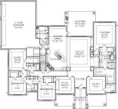 4 Bedroom Single Story Floor Plans 2065 Best Dream Home Images On Pinterest