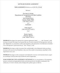 software license agreement template free it support maintenance