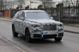 roll royce bmw spied 2018 rolls royce cullinan shows off front end http www