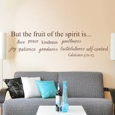 Moroccan Wall Decal by Amazon Com Scripture Wall Decal The Fruit Of Spirit Is Bible