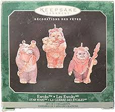 hallmark keepsake ornaments wars ewoks mini home