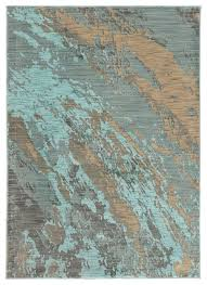 casa marble rug blue and gray contemporary area rugs by
