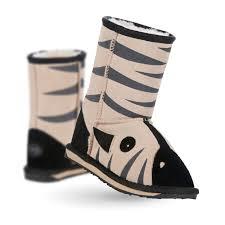 emu australia s boots zebra deluxe wool boot emu australia