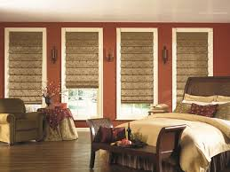 Roman Shade For French Door - shades french dining room traditional with black chandeliers