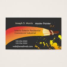 Titanium Business Cards Brushes Business Cards U0026 Templates Zazzle