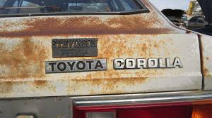 car junkyard portland 13 1981 toyota corolla sr5 coupe in colorado junkyard 2016