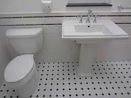 Tile Bathroom Floor Ideas Black And White Bathroom Floor Tile Complete Ideas Exle