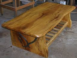 Build Wood Slab Coffee Table by Sycamore Wood Furniture Descargas Mundiales Com