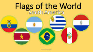 South America Flags World Flags Quiz South America Only Learn And Practice Youtube