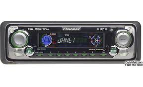 pioneer deh p3500 cd receiver with cd changer controls at