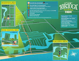 Map Of Ft Lauderdale Music Festival Parking Map Design