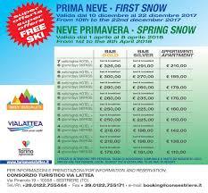 via lattea web turismo via lattea offerta speciale prima neve benvenuti su
