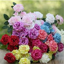 fake flowers for home decor compare prices on fake flowers wedding arches online shopping buy