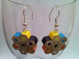 eco earrings how to recycle eco friendly jewelry earrings