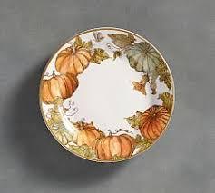 thanksgiving themed salad plates divascuisine