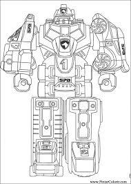 drawings paint u0026 colour power rangers print design 073