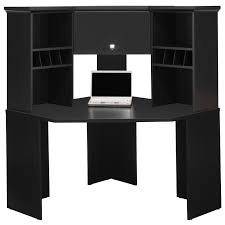 Black Corner Computer Desk With Hutch Black Corner Computer Desk Desks With Hutch Lovely Bush Stockport