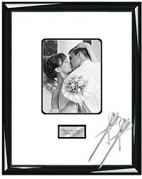 personalized wedding autograph frame personalized autograph picture frame signature photo