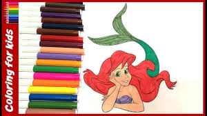coloring pages for girls how to color disney princess little