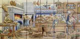 spanish portuguese azulejo backsplash tile murals by julia