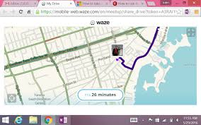 Waze Map Waze App Review John Galea U0027s Blog