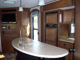 Outdoor Kitchen Sink Faucet Travel Trailer With Outside Kitchen Bunkhouse Travel Trailers With