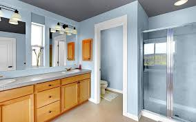 handsome paint color for bathroom with beige tile 12 for your home