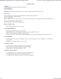 Sample Resume For Freshers Engineers Computer Science by Freshers Sample Resume Tips Writing Format Download Free