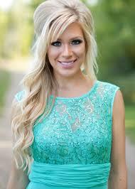 2017 sea blue bridesmaid dresses lace chiffon elegant long maid of
