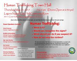 city of carson halloween carnival human trafficking town hall may 25 laguna niguel orangecounty