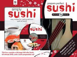 sushi for beginners book prepare sushi book and dvd kit hinkler books