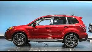 red subaru forester 2016 subaru forester 2 youtube
