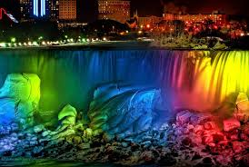 40 night pictures niagara falls