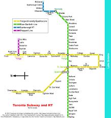 Map Toronto Canada by Map Subway Toronto Canada Joao Leitao Travel