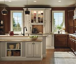 maple kitchen furniture maple kitchen cabinets with ivory accents homecrest