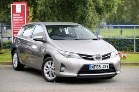 used toyota auris icon for sale motors co uk