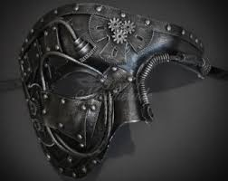 black and silver masquerade masks masquerade mask etsy