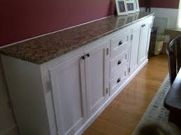 Do It Yourself Cabinets Kitchen Built In Dining Room Buffet Storage Underneath And Matching