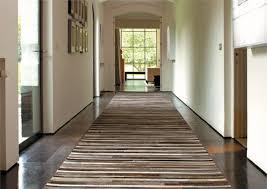 flur teppich stilvolle wohnideen mit leder teppich für luxus pur ambiente