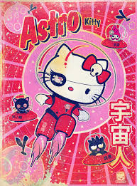 kitty art works inspired sanrio characters book
