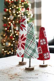 diy sweater trees craft lolly