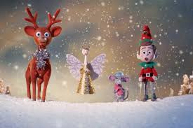 aardman brings christmas decorations to life with aussie accents